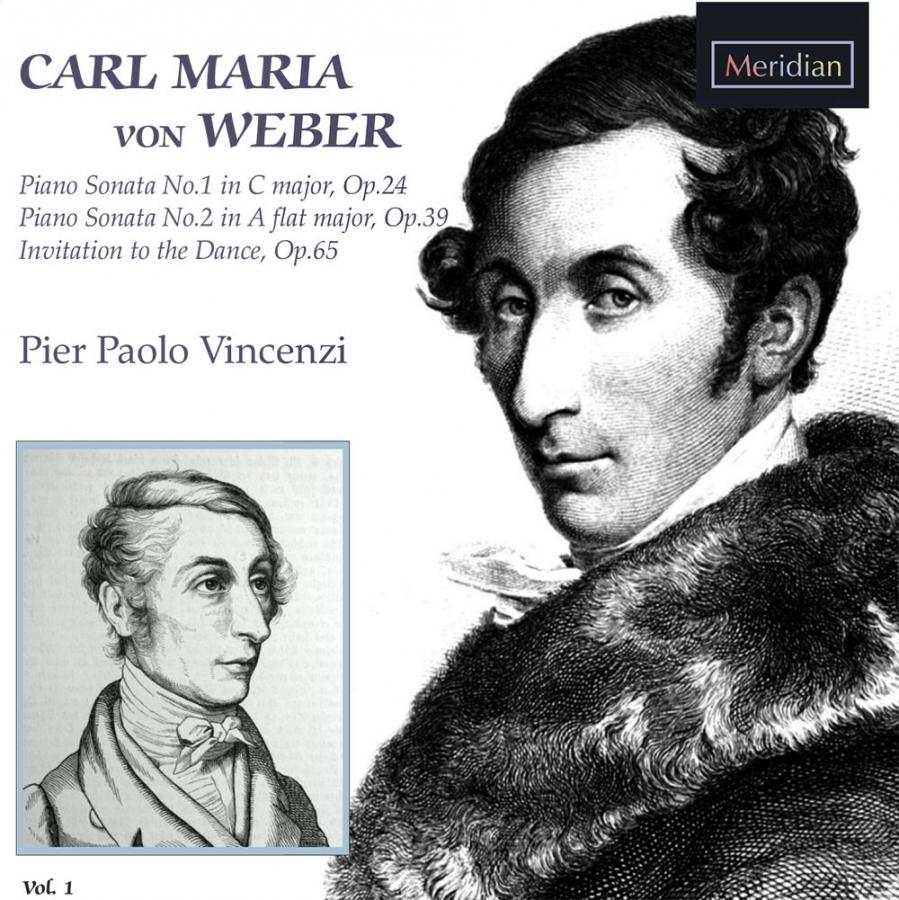 Carl Maria von Weber: Piano Sonatas vol. 1
